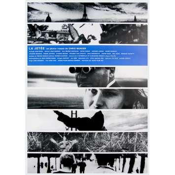 LA JETEE Original Movie Poster '98 The Pier Chris Marker RARE ! B1