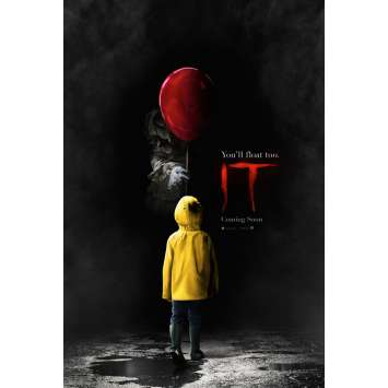 IT Original Advance Movie Poster - 2017 - Stephen King, ROLLED