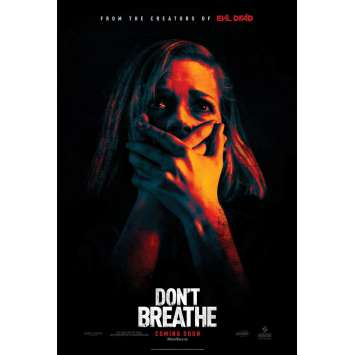 DON'T BREATHE Movie Poster 27x40 in. - DS 2016 - Fede Alavarez, Stephen Lang