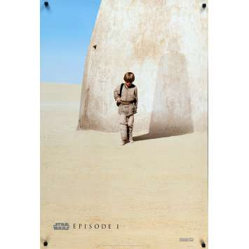 STAR WARS - THE PHANTOM MENACE Movie Poster 27x40 in. - DS 1999 – Lucas, Fan Club