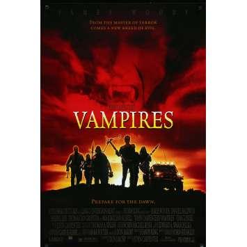 VAMPIRES Affiche de film 69x101 cm - DS 1998 - James Woods, John Carpenter -