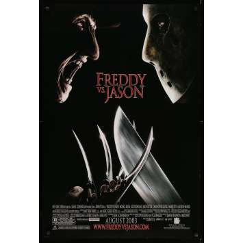 FREDDY VS JASON Movie Poster 27x40 in. - DS 2003 - Ronny Yu, Robert Englund