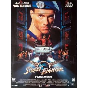 STREET FIGHTER Movie Poster 15x21 in. - 1994 - Steven E. de Souza, Jean-Claude Van Damme