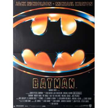 BATMAN Movie Poster 15x21 in. - 1989 - Tim Burton, Jack Nicholson