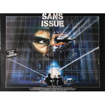 SANS ISSUE Affiche de film 60x80 cm - 1986 - Tommy Lee Jones, John Carpenter -