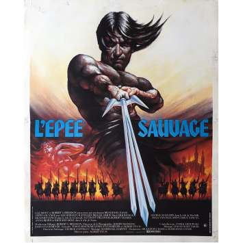 THE SWORD AND THE SORCERER Movie Poster 15x21 in. - 1982 - Albert Pyun, Lee Horsley