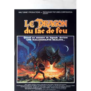 DRAGONSLAYER Movie Poster 15x21 in. - 1981 - Matthew Robbins, Caitlin Clarke
