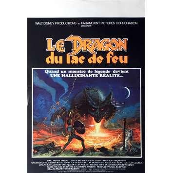 LE DRAGON DU LAC DE FEU Affiche de film 40x60 cm - 1981 – Disney