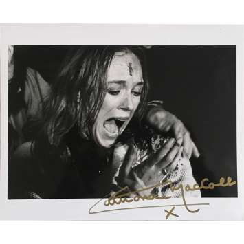 THE BEYOND Signed Photo by Catriona MacColl - 1990 - Lucio Fulci,
