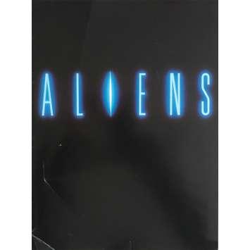 ALIENS Synopsis 21x30 cm - 4P 1986 - Sigourney Weaver, James Cameron