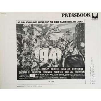 1941 Dossier de presse US - 1979 - John Belushi, Steven Spielberg -