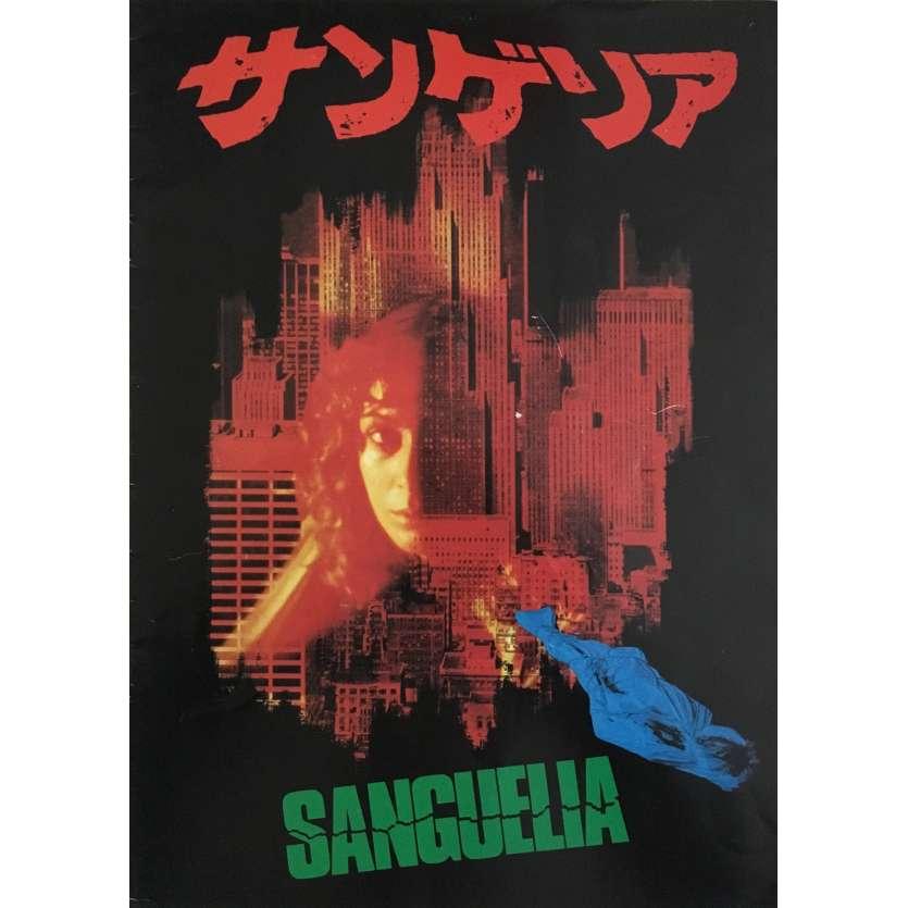 L'ENFER DES ZOMBIES Programme japonais - 1979 - Tisa Farrow, Lucio Fulci -