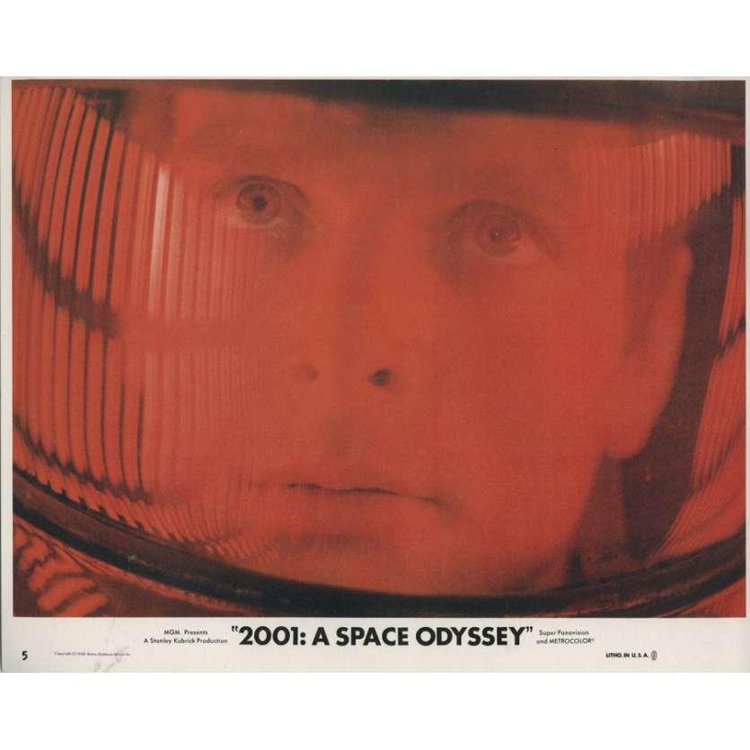 2001 L'ODYSSEE DE L'ESPACE 8 Mini-Lobby cards originales USA 1968 Kubrick