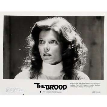 CHROMOSOME 3 Photo de presse 20x25 cm - N02 1979 - Samantha Eggar, David Cronenberg