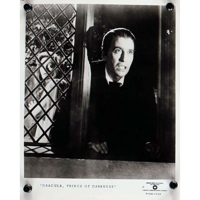 DRACULA PRINCE DES TENEBRES Photo de presse 20x25 cm - N03 R1970 - Christopher Lee, Terence Fisher