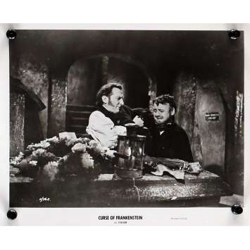 THE CURSE OF FRANKENSTEIN Movie Still 8x10 in. - N04 R1964 - Terence Fisher, Peter Cushing, Christopher Lee