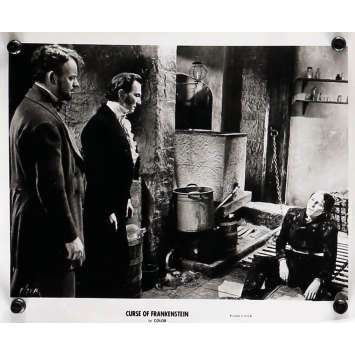 THE CURSE OF FRANKENSTEIN Movie Still 8x10 in. - N03 R1964 - Terence Fisher, Peter Cushing, Christopher Lee