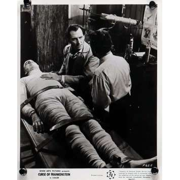 THE CURSE OF FRANKENSTEIN Movie Still 8x10 in. - N01 R1964 - Terence Fisher, Peter Cushing, Christopher Lee
