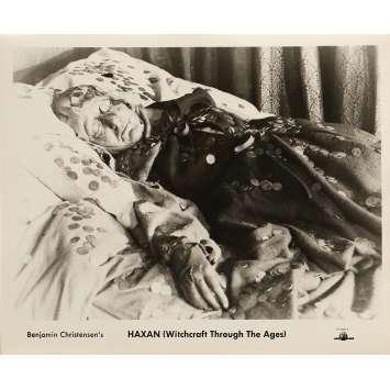 LA SORCELLERIE A TRAVERS LES AGES Photo de presse 20x25 cm - N01 R1960 - Elisabeth Christensen, Benjamin Christensen