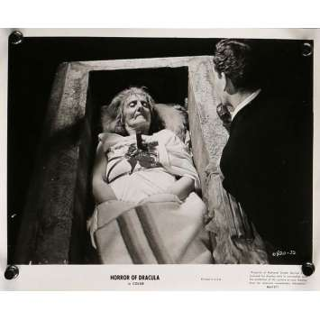 HORROR OF DRACULA Movie Still 8x10 in. - N05 R1964 - Terence Fisher, Peter Cushing, Christopher Lee