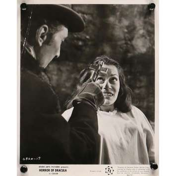 HORROR OF DRACULA Movie Still 8x10 in. - N04 R1964 - Terence Fisher, Peter Cushing, Christopher Lee