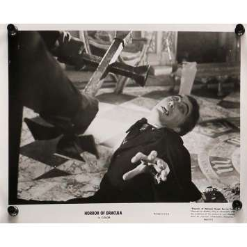 HORROR OF DRACULA Movie Still 8x10 in. - N01 R1964 - Terence Fisher, Peter Cushing, Christopher Lee