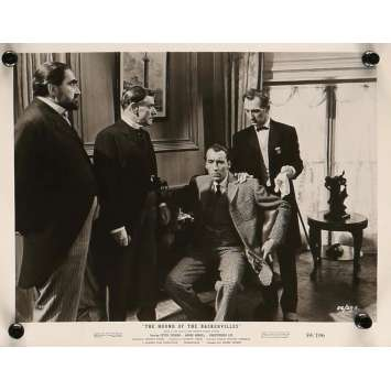 LE CHIEN DES BASKERVILLE Photo de presse 20x25 cm - N04 1959 - Peter Cushing, Christopher Lee, Terence Fisher