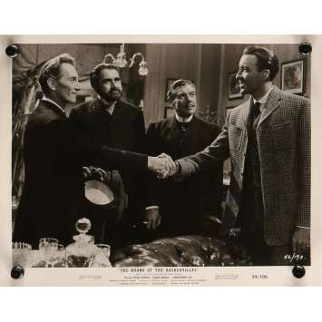 THE HOUND OF BASKERVILLE Movie Still 8x10 in. - N03 1959 - Terence Fisher, Peter Cushing, Christopher Lee