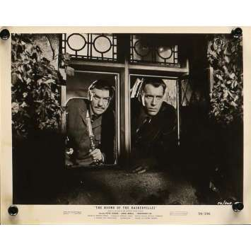 LE CHIEN DES BASKERVILLE Photo de presse 20x25 cm - N02 1959 - Peter Cushing, Christopher Lee, Terence Fisher