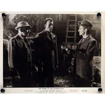 LE CHIEN DES BASKERVILLE Photo de presse 20x25 cm - N01 1959 - Peter Cushing, Christopher Lee, Terence Fisher