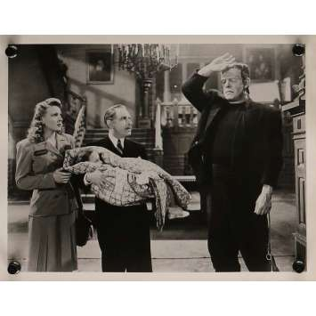 GHOST OF FRANKENSTEIN Movie Still 8x10 in. - N03 R1960 - Eric C. Kenton, Lon Chaney, Bela Lugosi