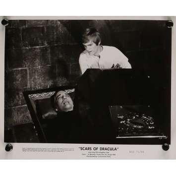 LES CICATRICES DE DRACULA Photo de presse 20x25 cm - N03 1970 - Christopher Lee, Roy Ward Baker