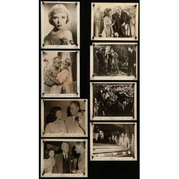 MACABRE Photos de presse 20x25 cm - x8 1958 - Bernice Stegers, William Castle