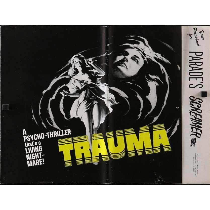 TRAUMA Dossier de presse 36x48 cm - 8p 1962 - John Conte, Robert M. Young