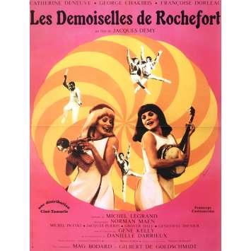 LES DEMOISELLES DE ROCHEFORT Affiche de film 40x60 cm - R2003 - Catherine Deneuve, Jacques Demy
