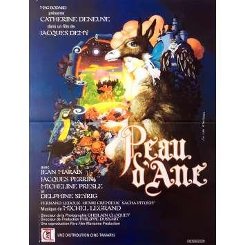 PEAU D'ANE Affiche de film 40x60 cm - R2003 - Catherine Deneuve, Jacques Demy