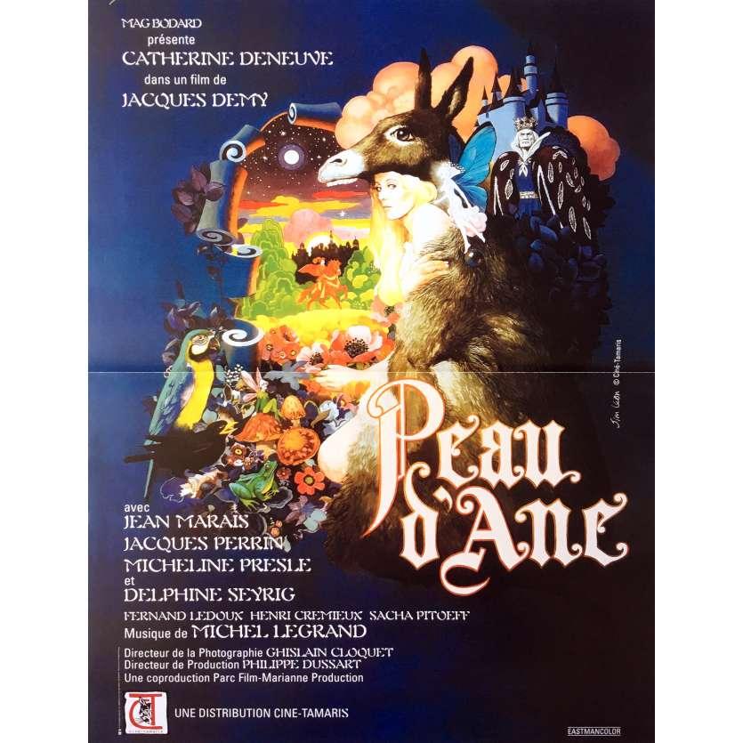 DONKEY SKIN Movie Poster 15x21 in. - R2003 - Jacques Demy, Catherine Deneuve