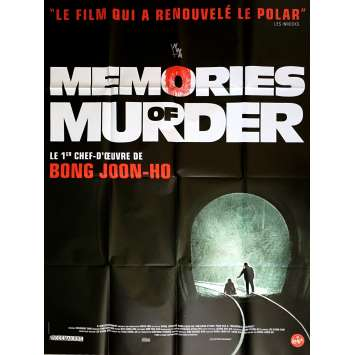 MEMORIES OF MURDER Movie Poster 47x63 in. - R2017 - Joon Ho Bong, Kang-ho Song