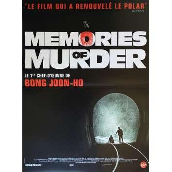 MEMORIES OF MURDER Affiche de film 40x60 cm - R2017 - Kang-ho Song, Joon Ho Bong