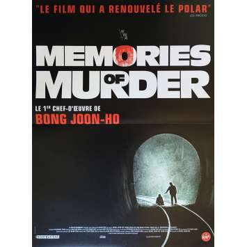 MEMORIES OF MURDER Movie Poster 15x21 in. - R2017 - Joon Ho Bong, Kang-ho Song
