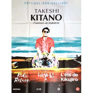 CHEMINS DE TRAVERSE Affiche de film 120x160 cm - 2017 - Takeshi Kitano, Takeshi Kitano
