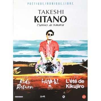 CHEMINS DE TRAVERSE Affiche de film 40x60 cm - 2017 - Takeshi Kitano, Takeshi Kitano