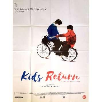 KIDS RETURN Affiche de film 120x160 cm - R2017 - Ken Kaneko, Takeshi Kitano