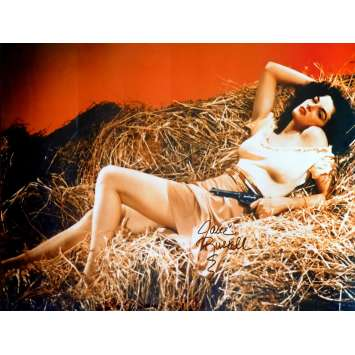 JANE RUSSEL US Signed Still 12x16 - 1980 - , Jane Russel