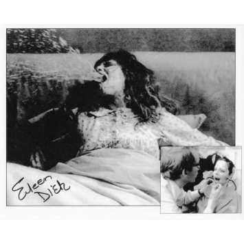 THE EXORCIST Repro Still Signed by EILEEN DIETZ - Demon Pazuzu