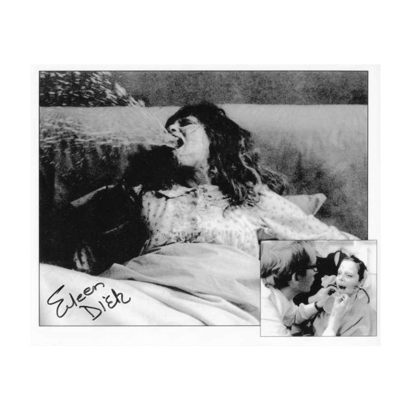 L'EXORCISTE Photo signée par Eileen Dietz - 20x25 cm - Pazuzu !