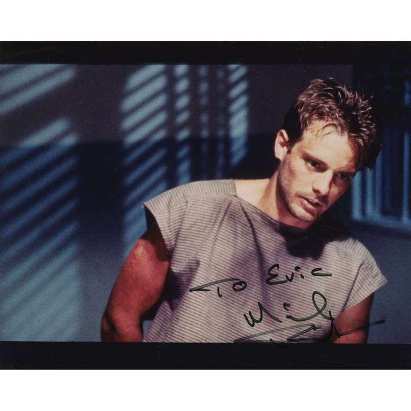 TERMINATOR Photo US signée par MICHAEL BIEHN - 20x25 - Reese!