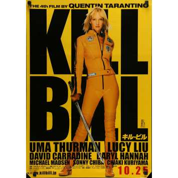 KILL BILL Movie Poster 20x28 in. - 2003 - Quentin Tarantino, Uma Thurman
