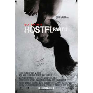 HOSTEL II Affiche signée 69x101 cm - 2007 - Lauren German, Eli Roth