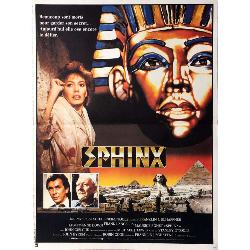 SPHINX French Movie Poster 15x21 '81